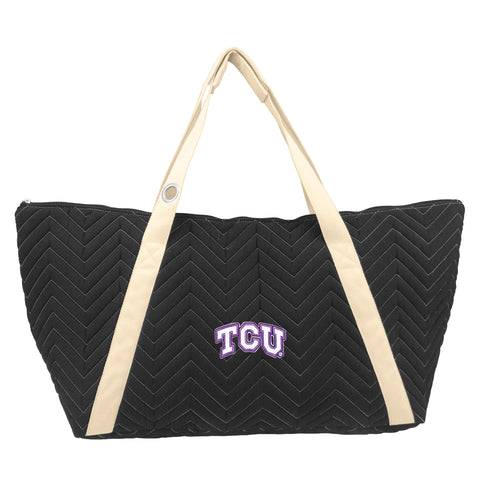 TCU Horned Frogs Chev Stitch Weekender