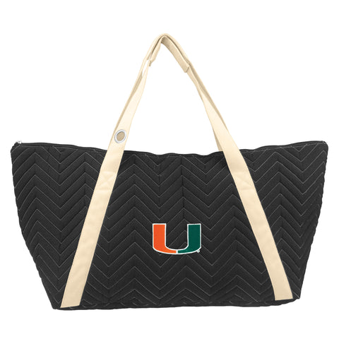 Miami Hurricanes Chev Stitch Weekender