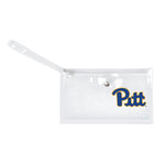 University of Pittsburgh Clear Ticket Wristlet
