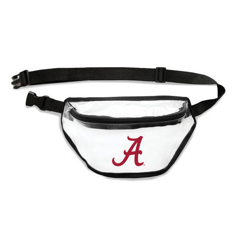 Alabama Crimson Tide Clear Fanny Pack