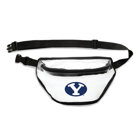 BYU Cougars Clear Fanny Pack