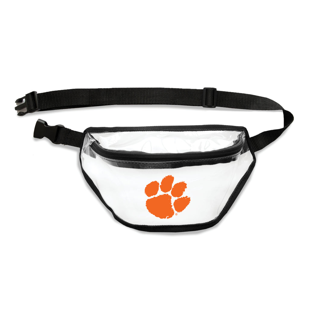 Clemson Tigers Clear Fanny Pack