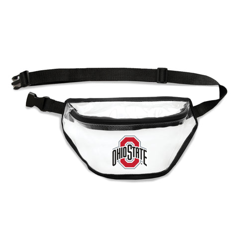 Ohio State Buckeyes Clear Fanny Pack
