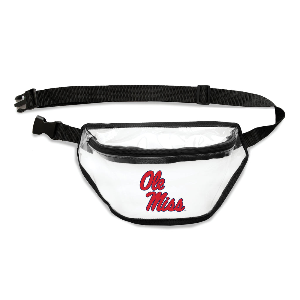 Mississippi Old Miss Rebels Clear Fanny Pack