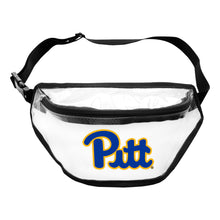 Load image into Gallery viewer, University of Pittsburgh Clear Fanny Pack