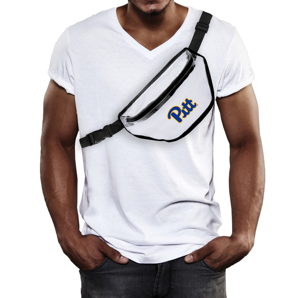 University of Pittsburgh Clear Fanny Pack