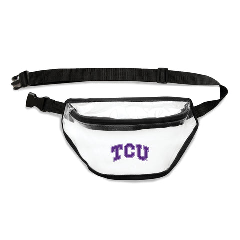 TCU Horned Frogs Clear Fanny Pack