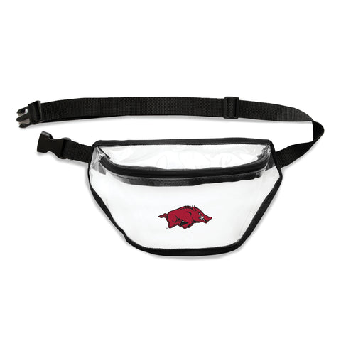 Arkansas Razorbacks Clear Fanny Pack