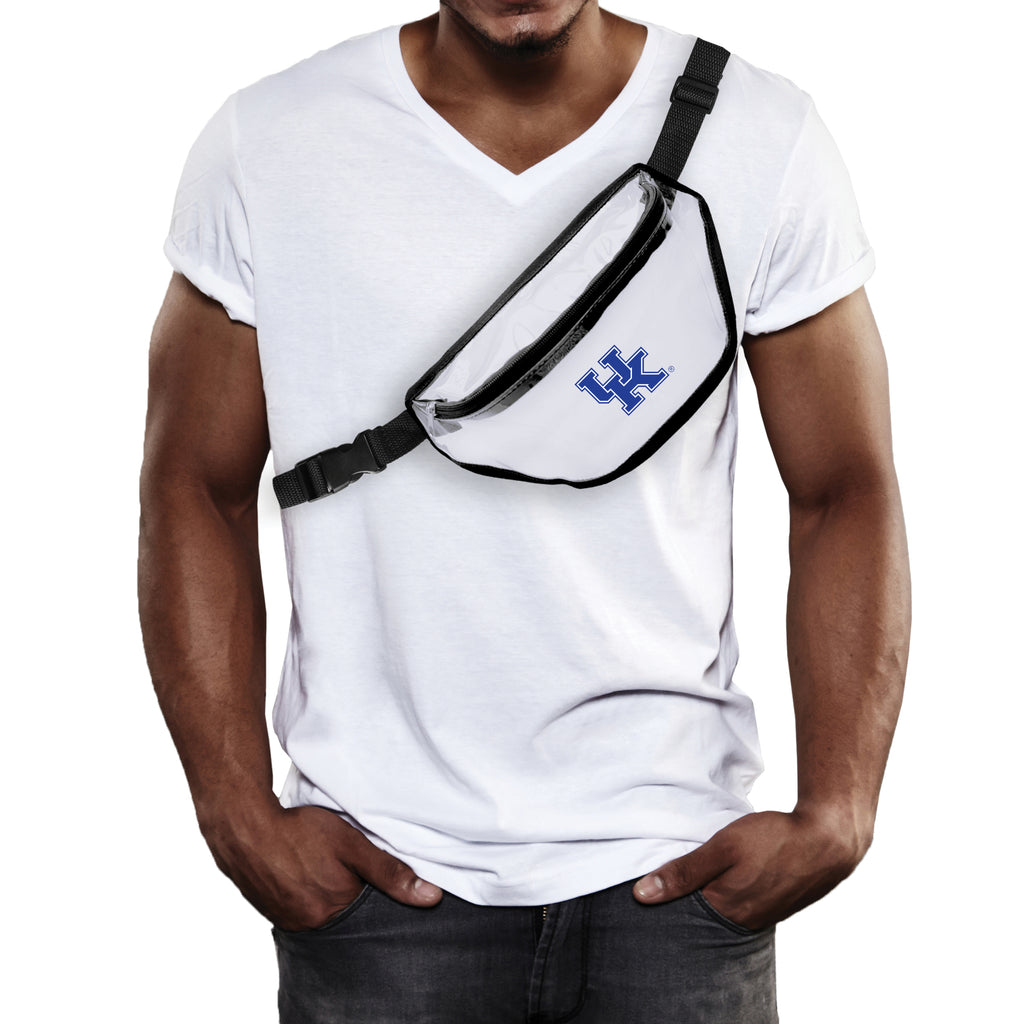 University of Kentucky Clear Fanny Pack