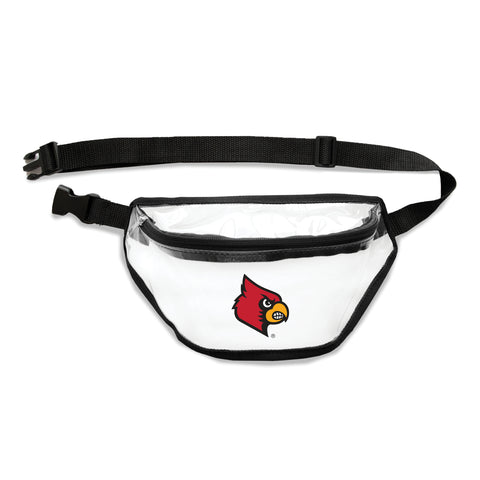 Louisville Cardinals Clear Fanny Pack