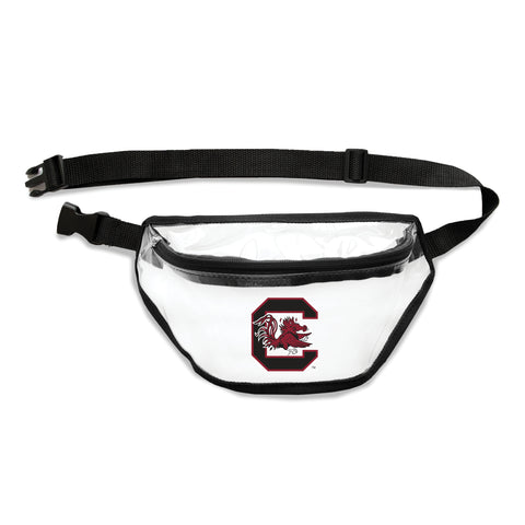South Carolina Fighting Gamecocks Clear Fanny Pack