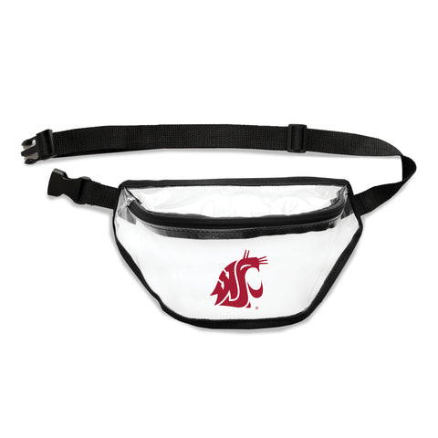 Washington State Cougars Clear Fanny Pack