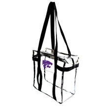 Load image into Gallery viewer, Kansas State University Clear Tote Along