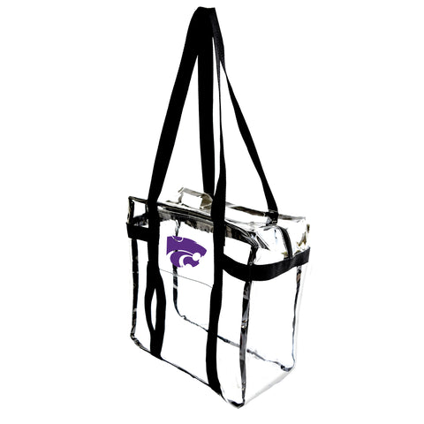 Kansas State University Clear Tote Along