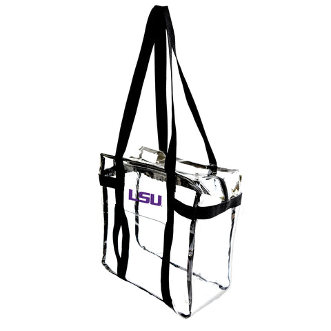 Louisiana State University Clear Tote Along