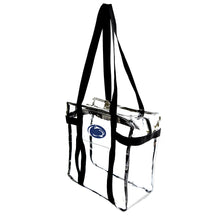 Load image into Gallery viewer, Pennsylvania State University Clear Tote Along
