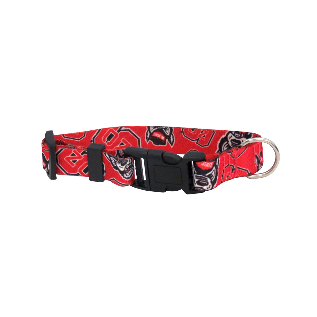 North Carolina State Pet Team Collar