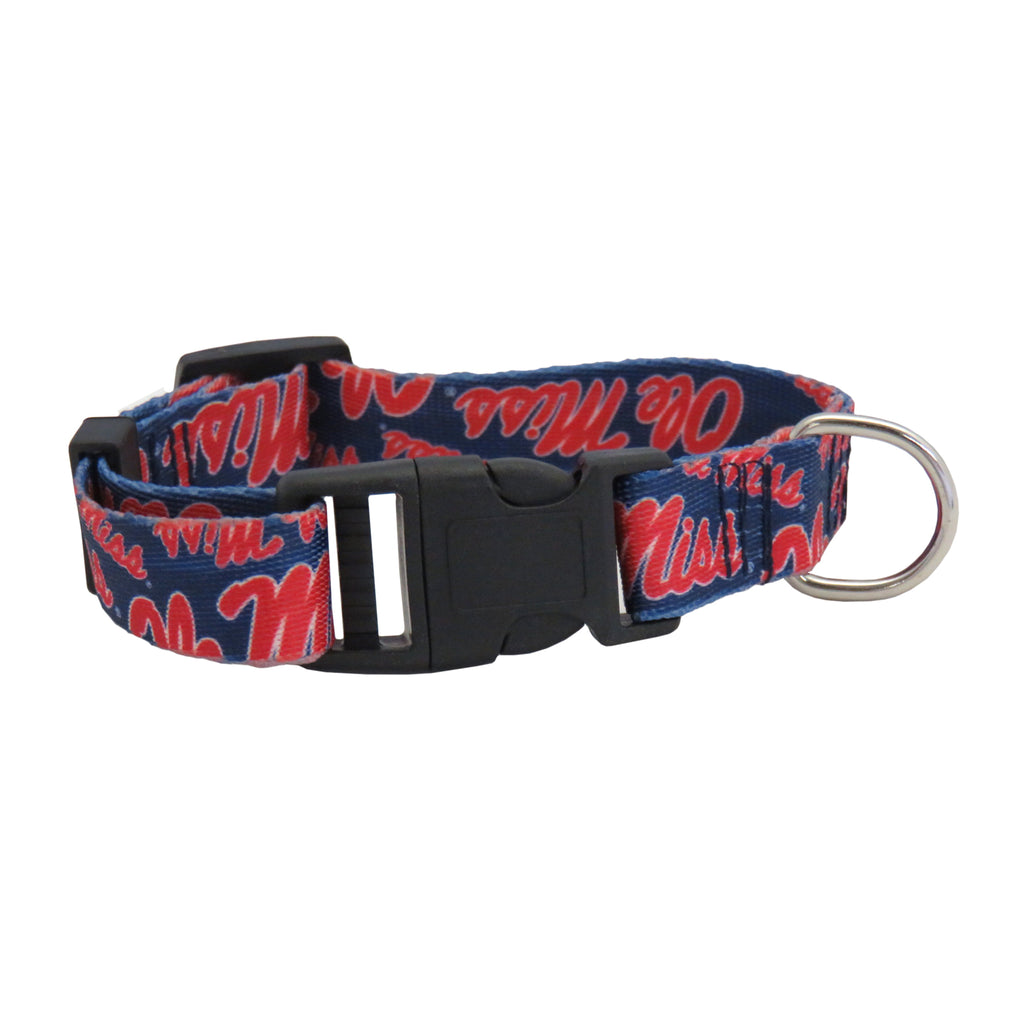 University of Mississippi Pet Team Collar
