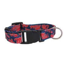 Load image into Gallery viewer, University of Mississippi Pet Team Collar
