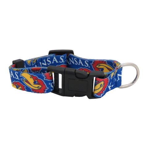 Kansas Jayhawks Pet Team Collar