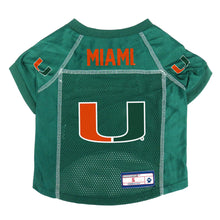 Load image into Gallery viewer, University of Miami Pet Jersey