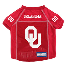 Load image into Gallery viewer, University of Oklahoma Pet Jersey