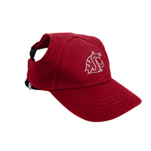 Load image into Gallery viewer, Washington State University Pet Baseball Hat