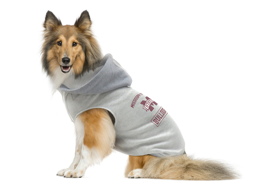 Mississippi State University Pet Hooded Crewneck Type