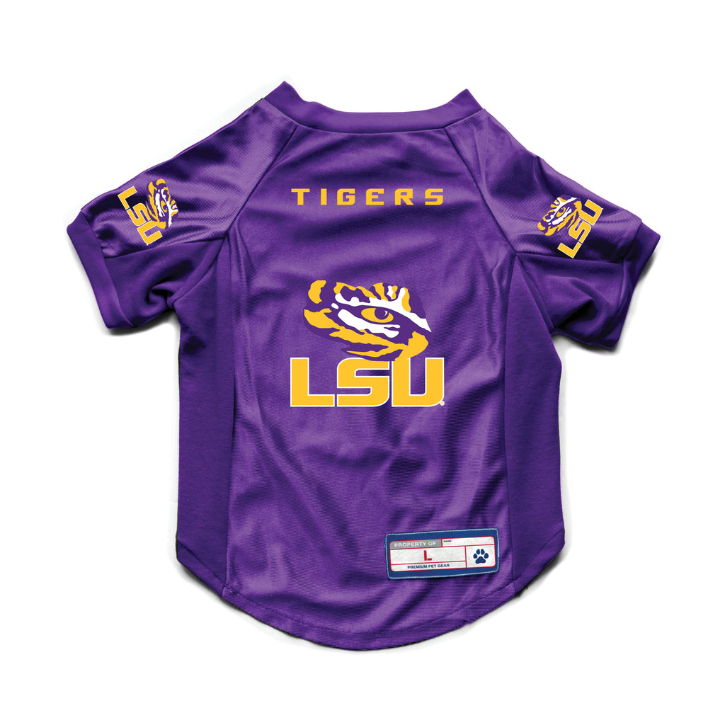 Louisiana State University Pet Stretch Jersey