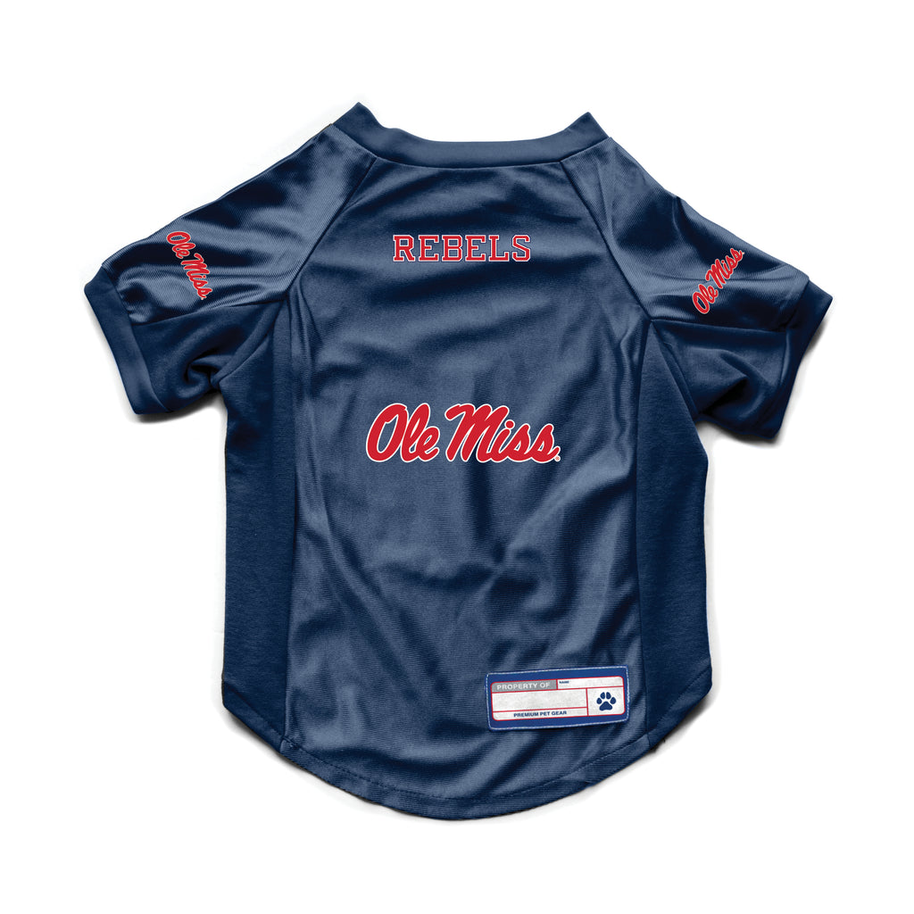 University of Mississippi Pet Stretch Jersey