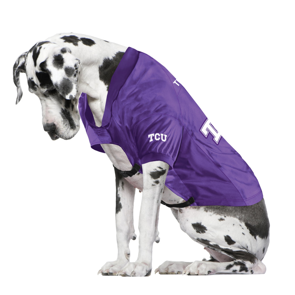 Texas Christian University Big Pet Stretch Jersey