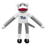 University of Pittsburgh Team Sock Monkey Pet Toy