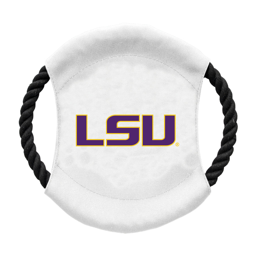 Louisiana State University Team Flying Disc Pet Toy