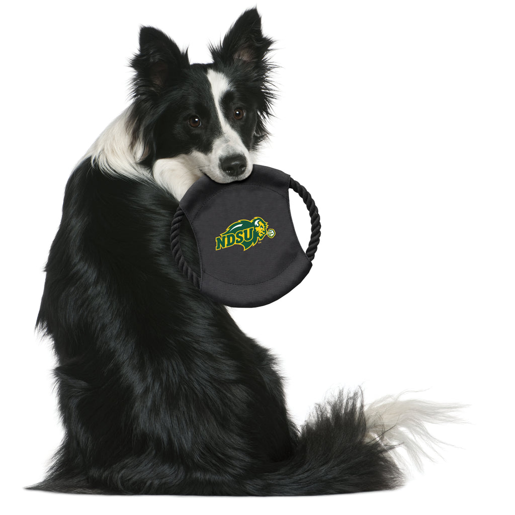 North Dakota State University Team Flying Disc Pet Toy