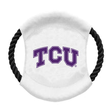 Load image into Gallery viewer, Texas Christian University Team Flying Disc Pet Toy