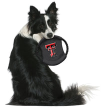 Load image into Gallery viewer, Texas Tech University Team Flying Disc Pet Toy