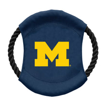 Load image into Gallery viewer, University of Michigan Team Flying Disc Pet Toy