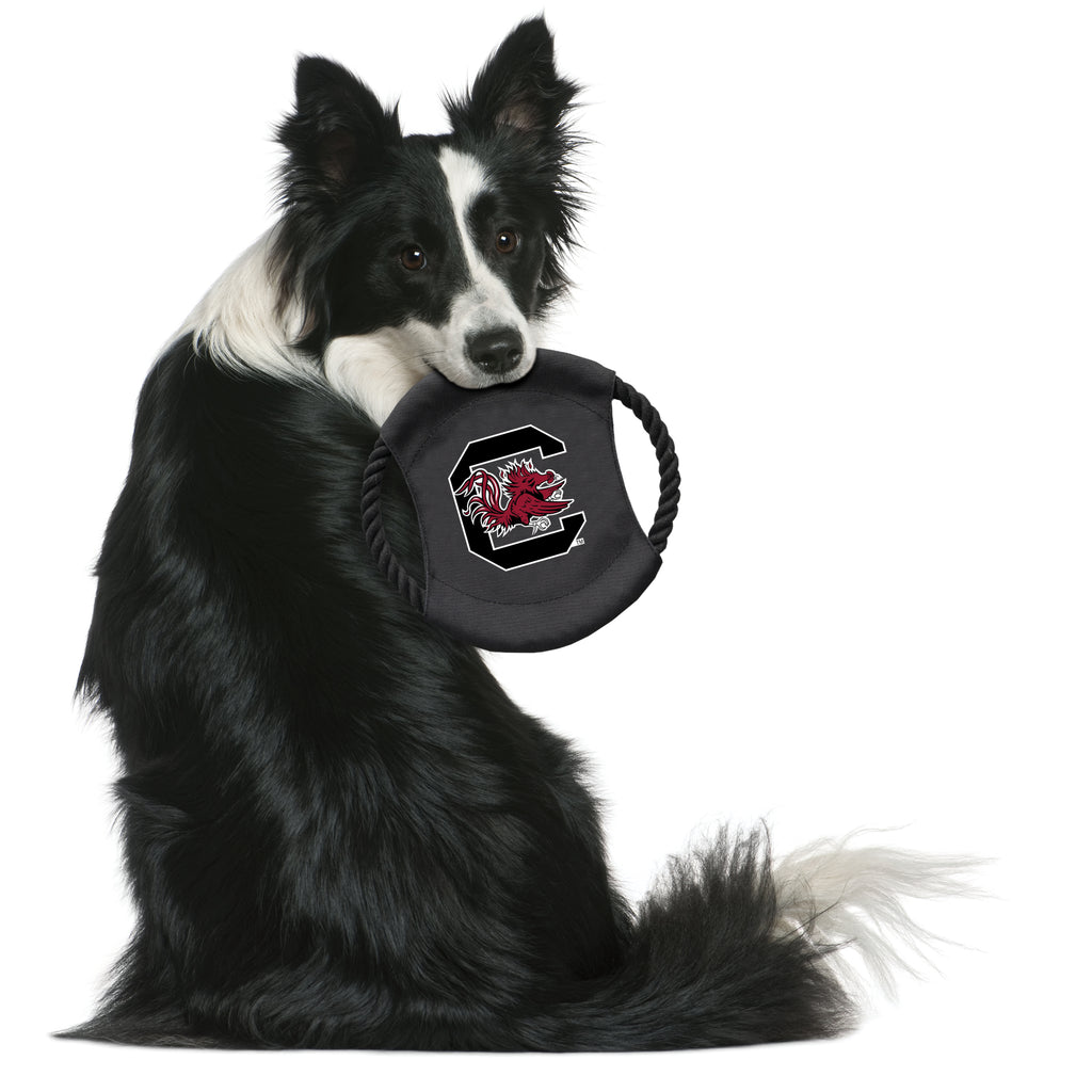 University of South Carolina Team Flying Disc Pet Toy