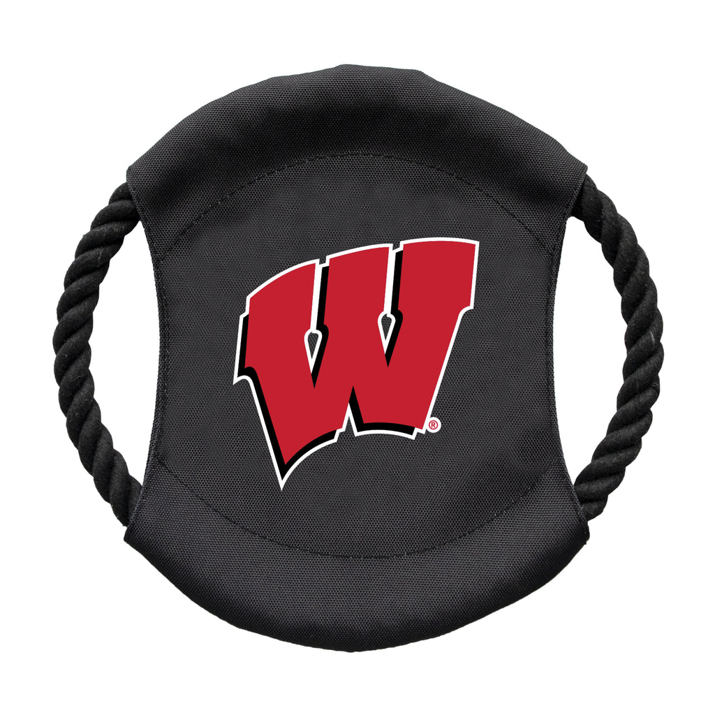 University of Wisconsin Team Flying Disc Pet Toy
