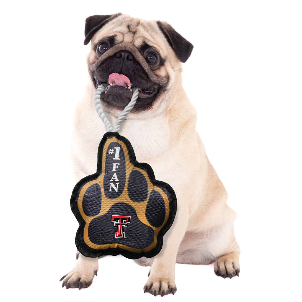 Texas Tech University Super Fan Pet Toy