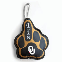 Load image into Gallery viewer, University of Oklahoma Super Fan Pet Toy