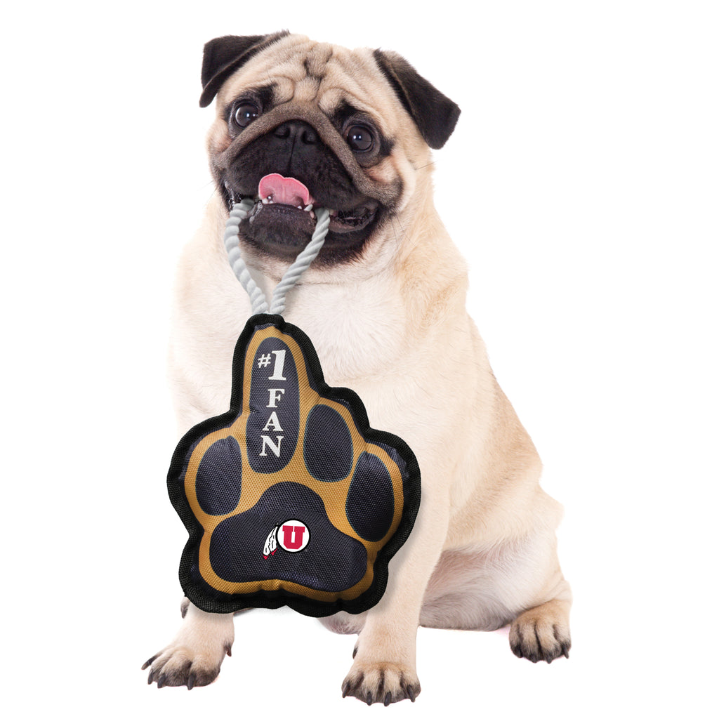 University of Utah Super Fan Pet Toy