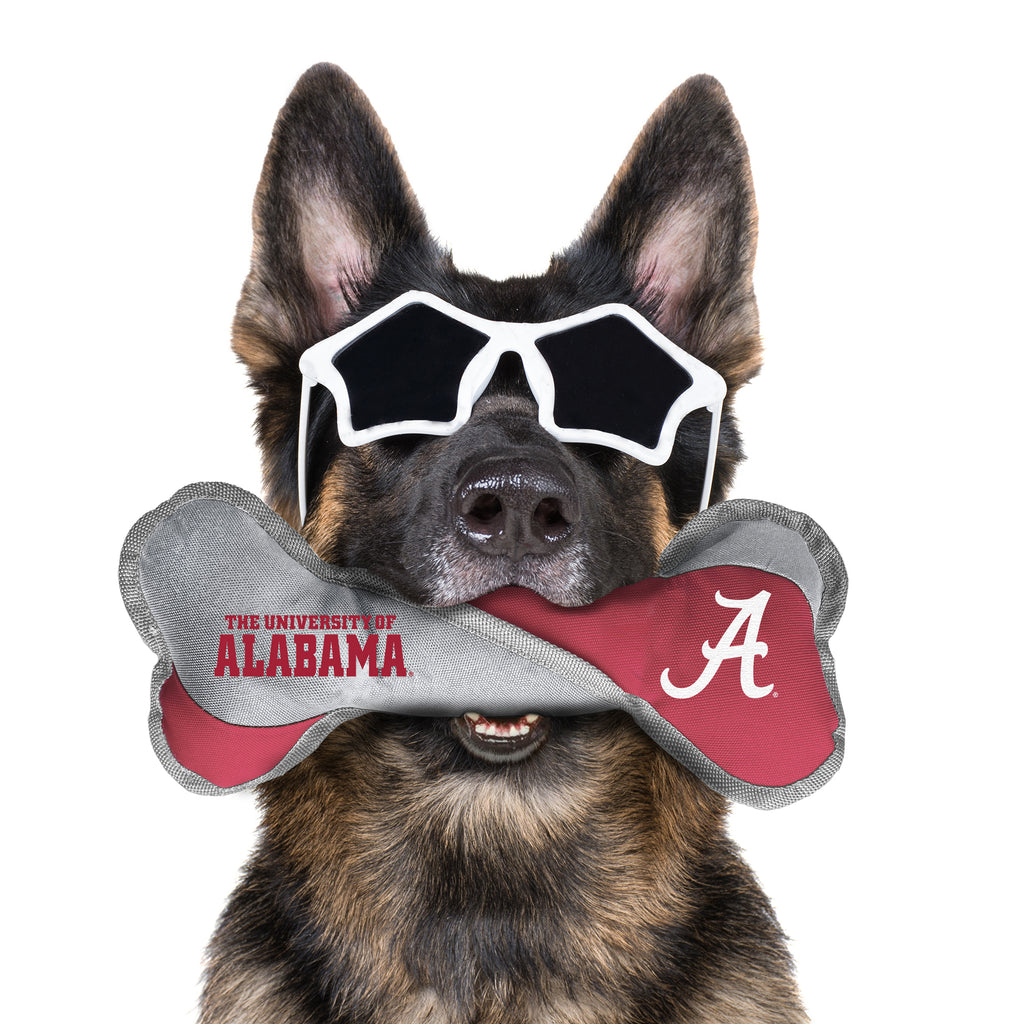 University of Alabama Pet Tug Bone