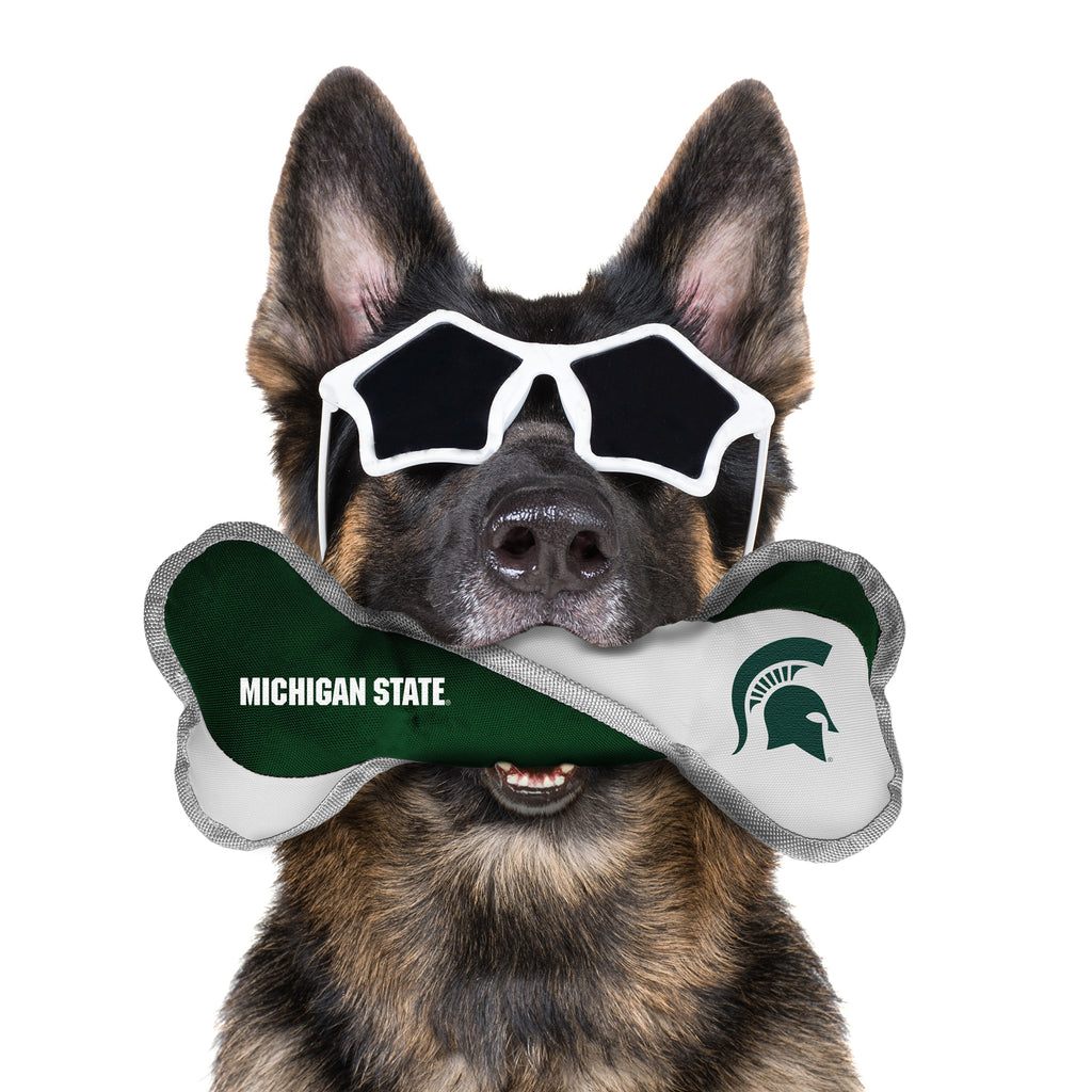 Michigan State University Pet Tug Bone