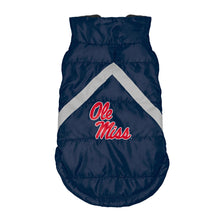 Load image into Gallery viewer, University of Mississippi Pet Puffer Vest