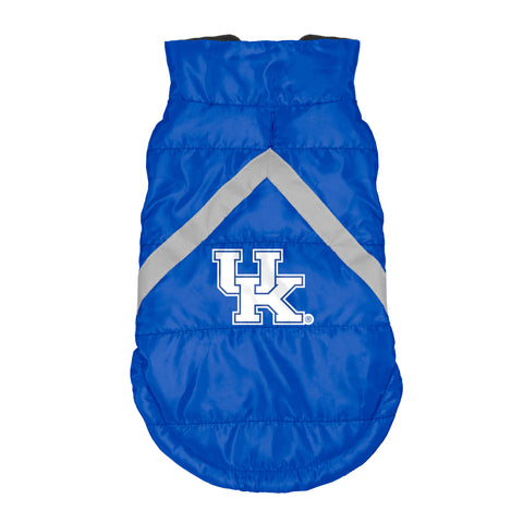 Kentucky Wildcats Pet Puffer Vest