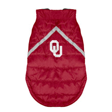 Load image into Gallery viewer, University of Oklahoma Pet Puffer Vest