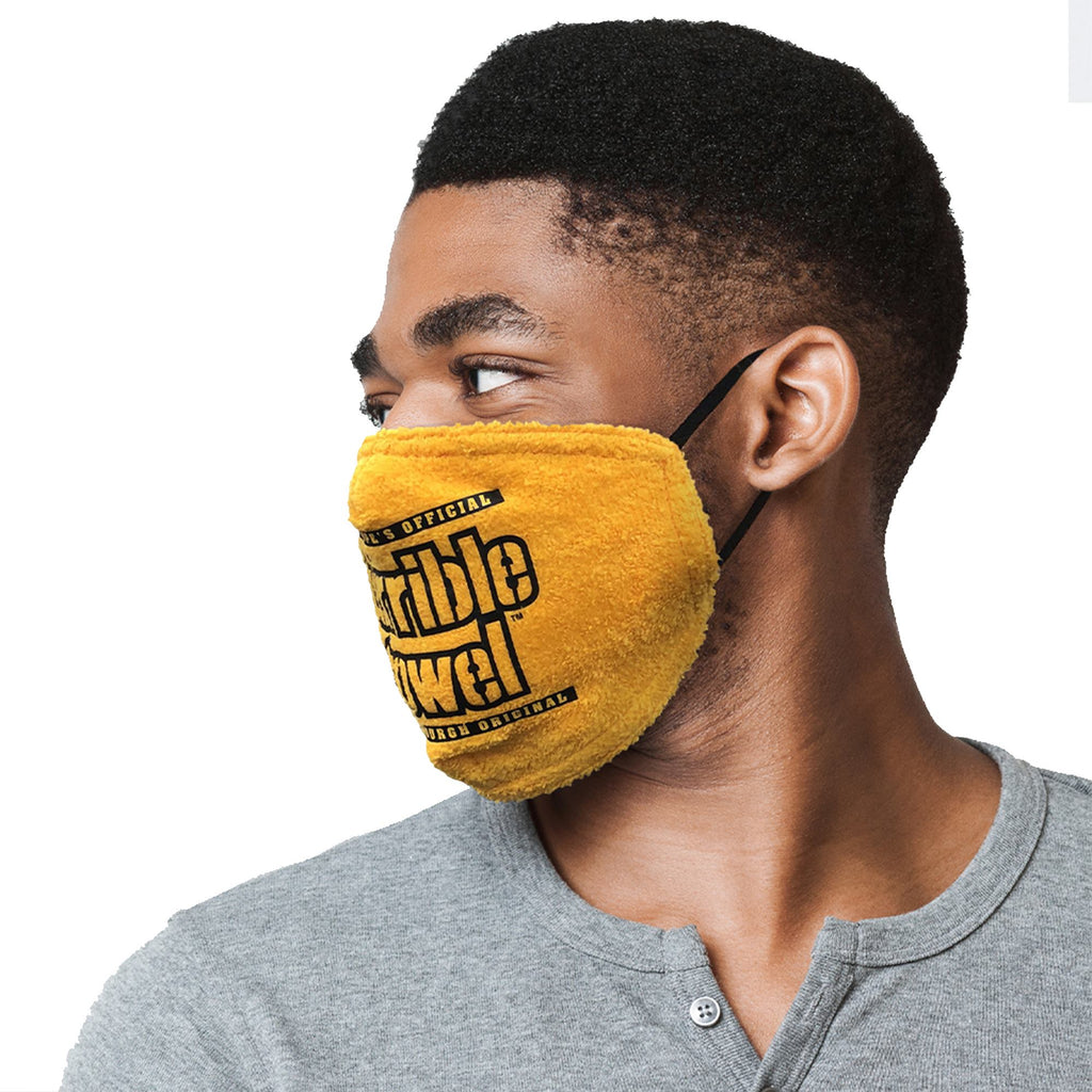 Pittsburgh Steelers Terrible Towel Face Mask