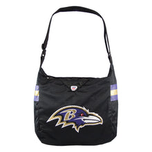 Load image into Gallery viewer, Baltimore Ravens Team Jersey Tote