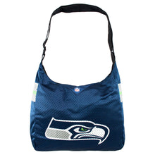 Load image into Gallery viewer, Seattle Seahawks Team Jersey Tote